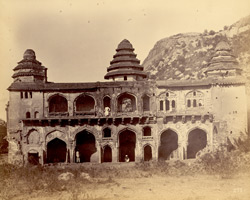 Front of the Rani Mahal, Chandragiri, North Arcot District 273
